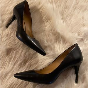 Shoes - Calvin Klein leather Gayle pumps